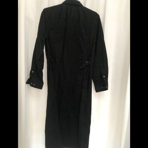 Ralph Lauren Safari black maxi shirt dress, 8